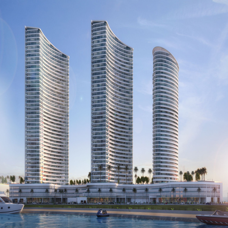 3 Towers of New Alamen Marina Towers, Egypt