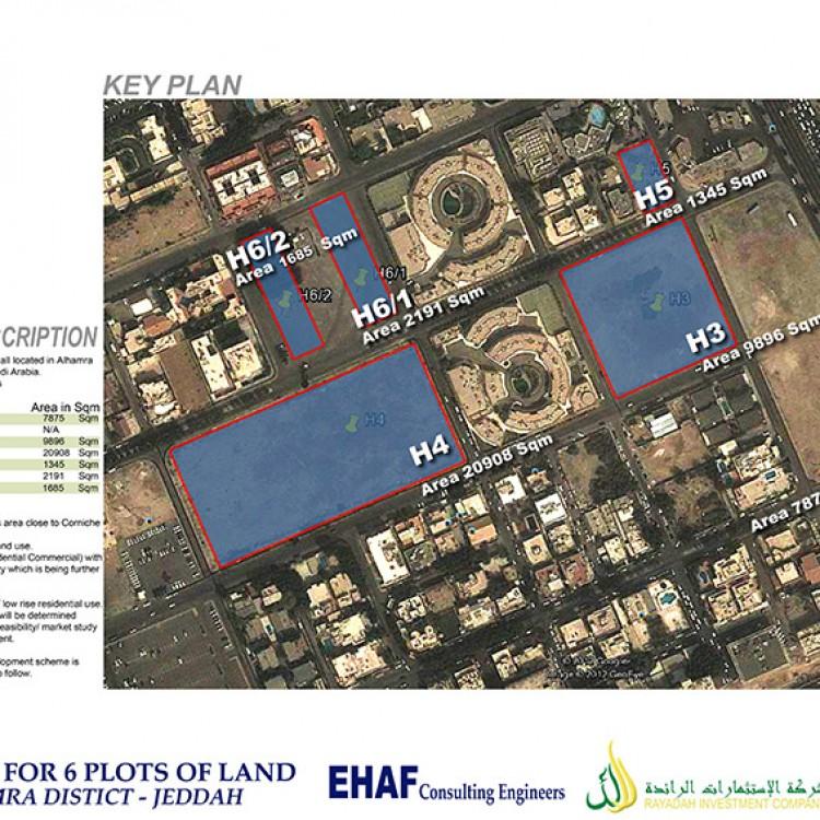Al Hamra District - Plot H6.1H6.2 Mixed Use Buildings, KSA