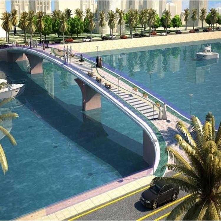 Al Marina Development, Lagoon Pedestrian Bridge, KSA