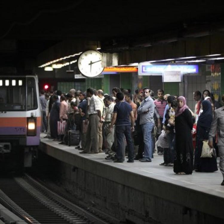 Al Sohadda Station, Greater Cairo Metro, Egypt
