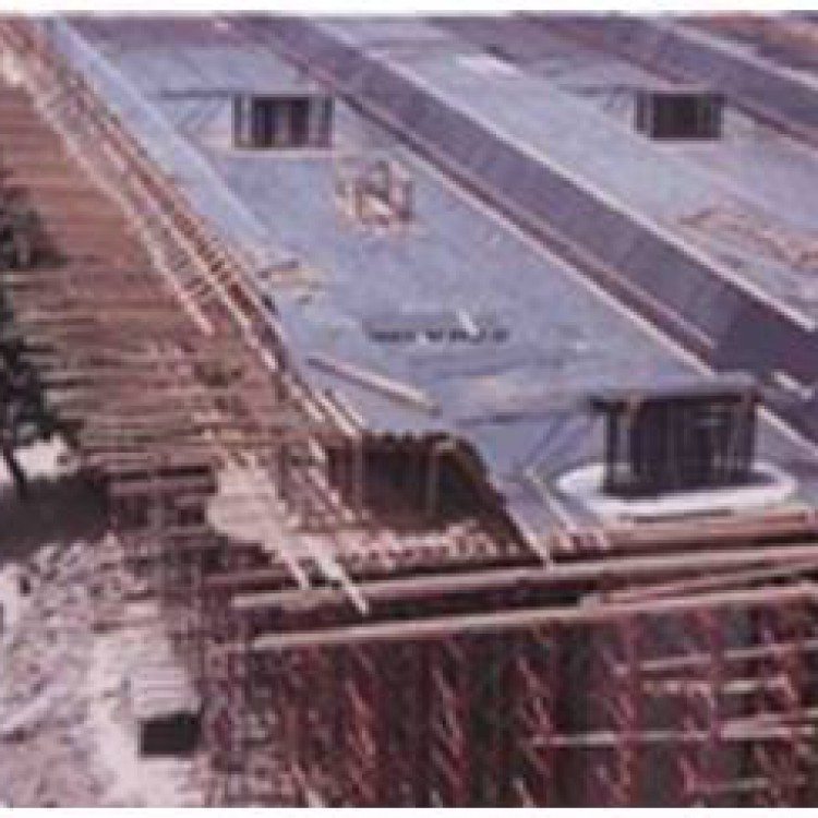 Building Material City Pedestrian Bridge Between Residential Areas over the roads, UAE