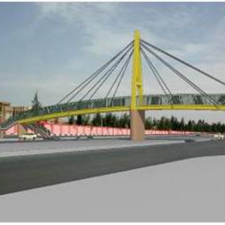Foot Bridge at Km +11.00 Ismailia - Port Said Road, KSA