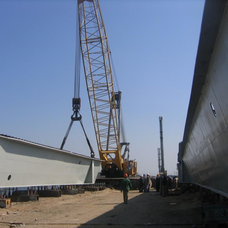 International Coastal Road - Section (3) Hydraulic Stability of El-Salam Canal Slopes, Egypt