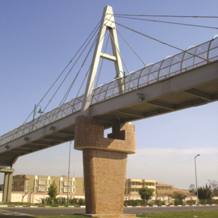 Ismaillia Foot Bridge at Ezz El-Din Education Center, Egypt