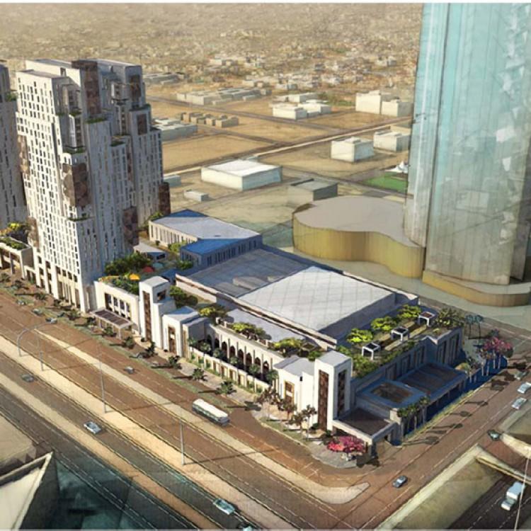 King Fahd road complex, KSA