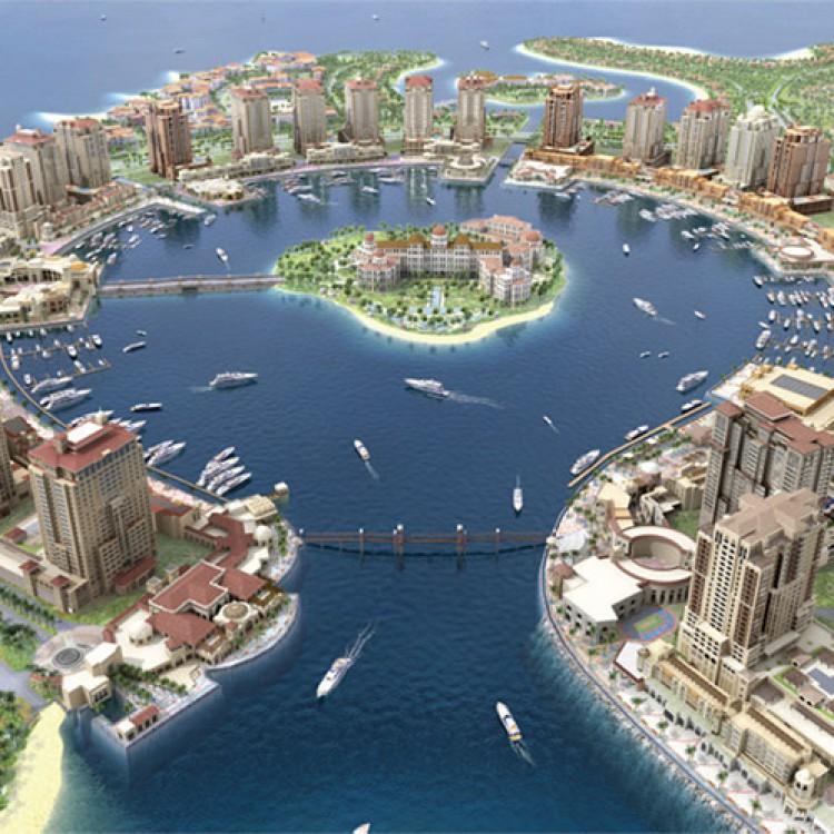 Pearl Island 5 Towers, Qatar