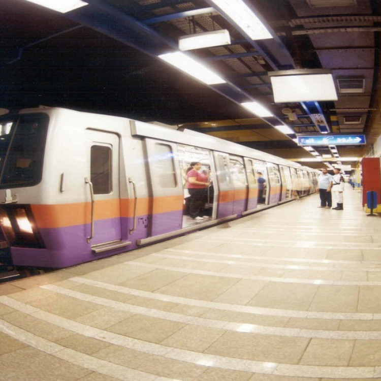 Rod El Farag Station, Greater Cairo Metro, Egypt