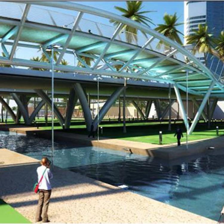 Shams Abu Dhabi Bridge, UAE
