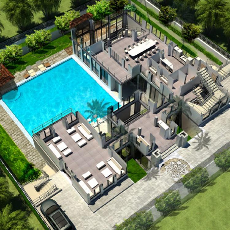Al Thani Private Villa, Qatar