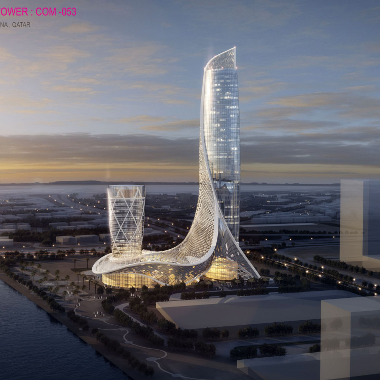 Lusail Marina Tower COM 53, Qatar