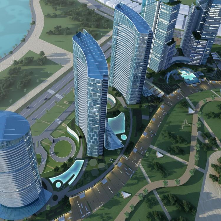 New Alamen Marina Towers, Egypt